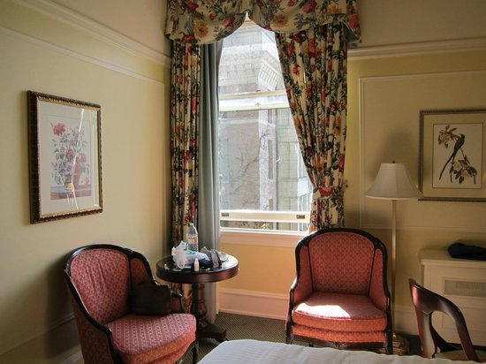 The Fairmont Empress: View from the bed