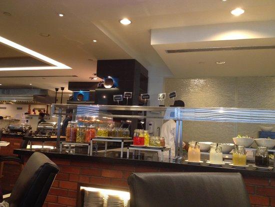 Melia Kuala Lumpur: zona colazione