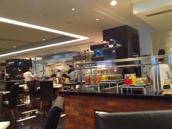 Melia Kuala Lumpur : zona colazione