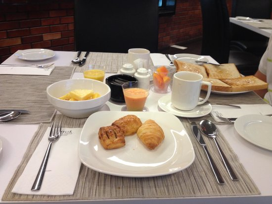 Melia Kuala Lumpur : la mia colazione al Melia