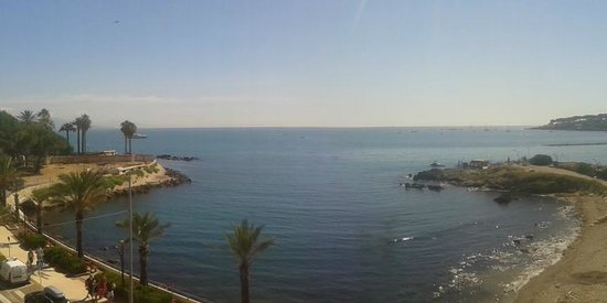 Royal Antibes Hotel, Residence, Beach & Spa : View from the balcony