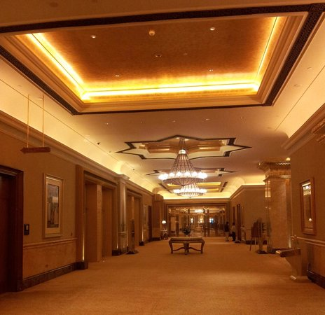 Emirates Palace: PASILLO