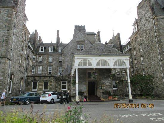 Atholl Palace Hotel: The entrance into hades