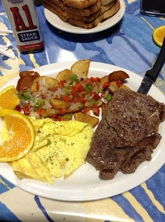 Mr. Mamas: Steak and Eggs