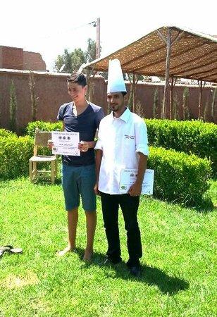 Shay mitchell picture of atelier de cuisine chef tarik for Atelier cuisine marrakech
