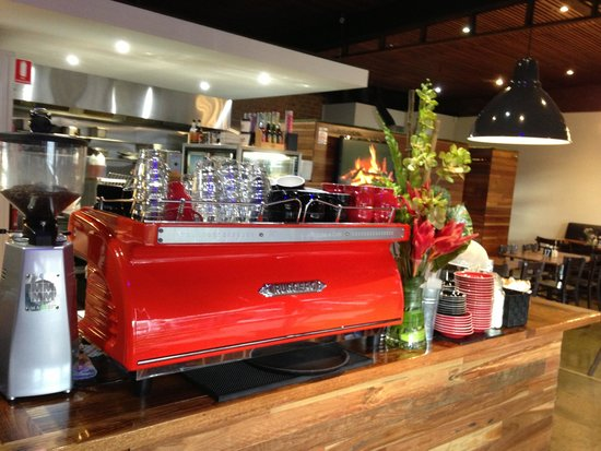 The Lower Deck Cafe: Great fitout