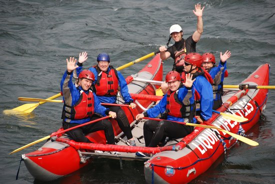 Liquid Lifestyles Whitewater Rafting : And our return