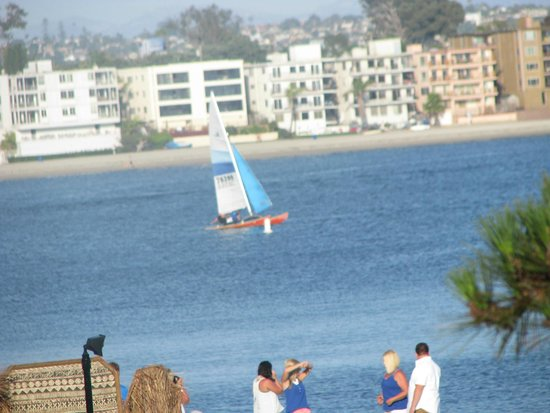 Catamaran Resort Hotel and Spa: Sail boat on Mission Bay