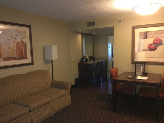 Embassy Suites by Hilton Charlotte: Living Room