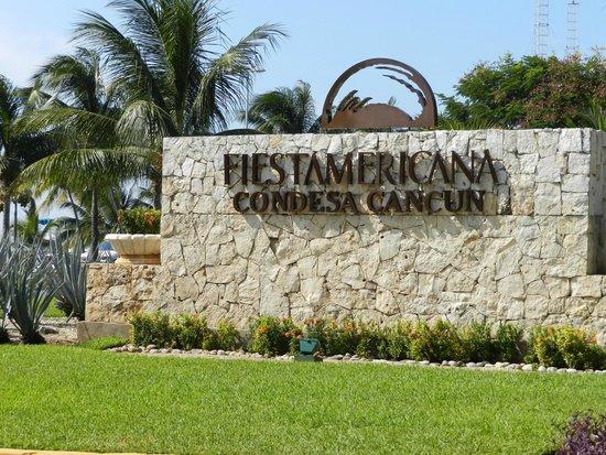 Fiesta Americana Condesa Cancun All Inclusive: Entrance