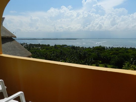 Fiesta Americana Condesa Cancun All Inclusive: Lagoon View from our Balcony ( rm 731)