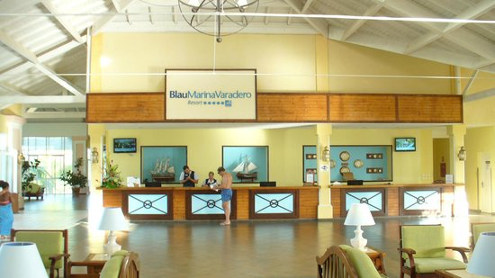 Blau Marina Varadero Resort: Reception
