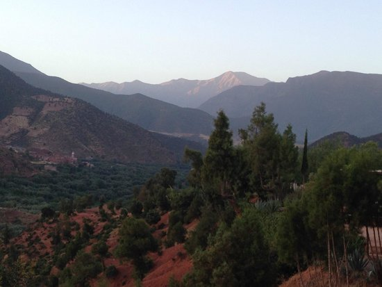Kasbah Bab Ourika: Vistas in all directions