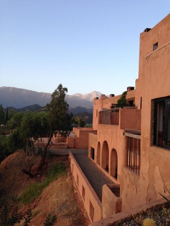 Kasbah Bab Ourika: View from the balcony