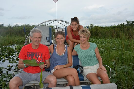 Mack's Fish Camp - Tours: our family