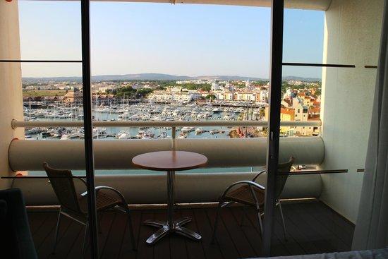 Tivoli Marina Vilamoura: room with a view