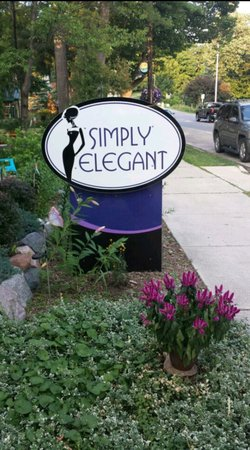 Alden, MI: The store front at Simply Elegant