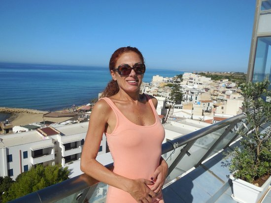 Hotel Admeto : terrazza colazione