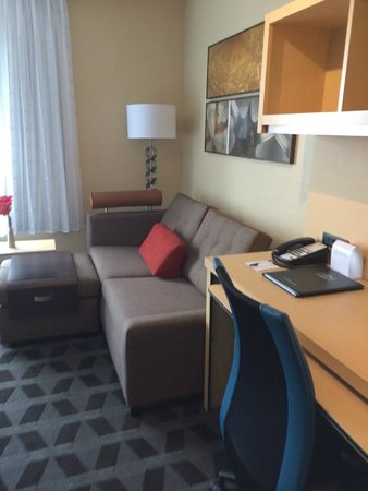 TownePlace Suites Des Moines Urbandale : Pull Out Sofa