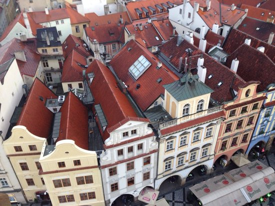 Old Town (Stare Mesto) : From the tower.