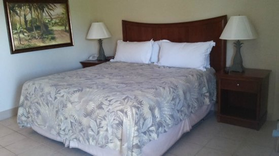 'Tween Waters Island Resort & Spa : bed