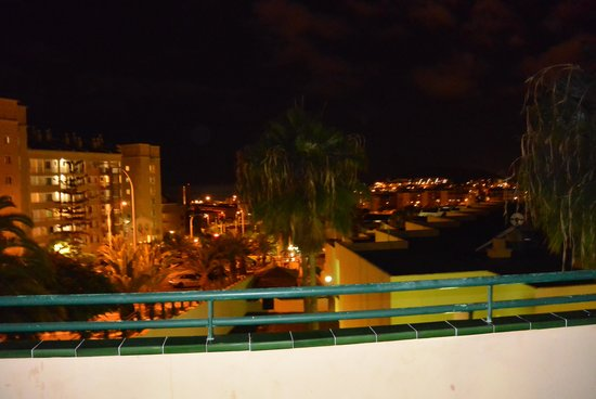 LABRANDA Oasis Mango: View from Balcony at night!!