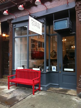 Photo of Restaurant Prodigy Coffee at 33 Carmine St, New York City, NY 10014, United States