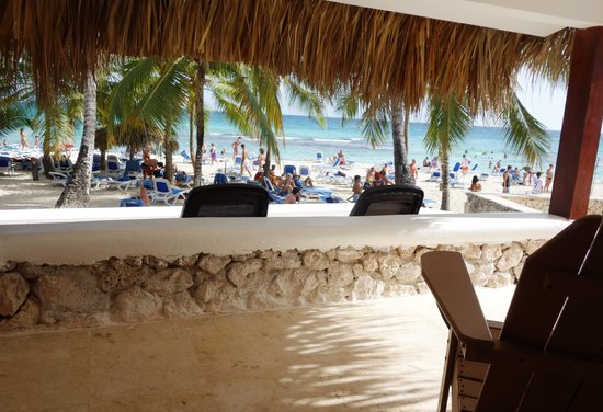 Viva Wyndham Dominicus Beach An All Inclusive Resort View From Window In Ocean
