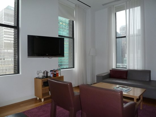 The Bryant Park Hotel: TV