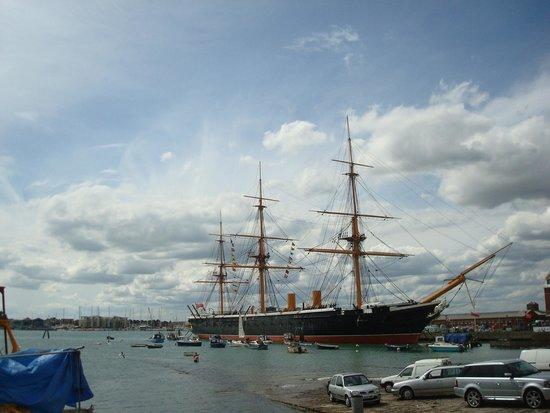 Portsmouth Historic Dockyard: HMS Warrior