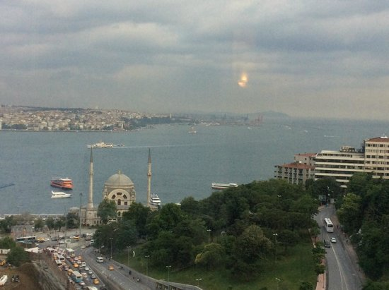 The Ritz-Carlton, Istanbul: View from room