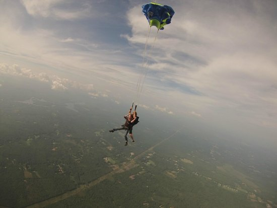 Skydive New England, LLC: Chute time