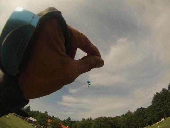 Skydive New England, LLC: Landing