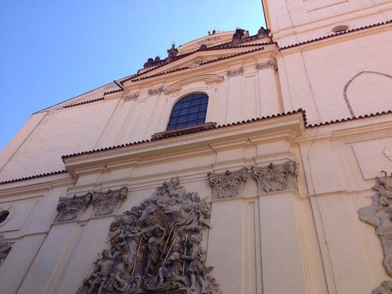 Jakobskirche: The front of it.