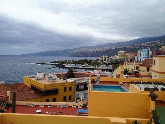Marquesa Hotel: Blick von der Dachterrasse nach Norden