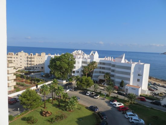 Fiesta Hotel Milord: View from our balcony