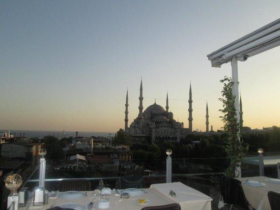 Seven Hills Restaurant : Hermosa vista