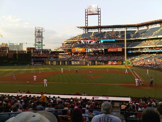 Citizens Bank Park: View from our seats
