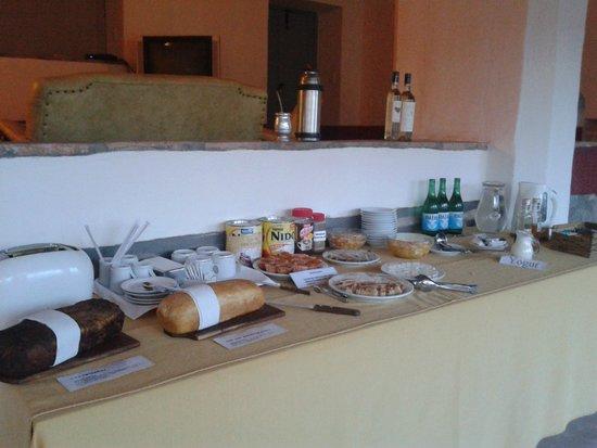 Sala de Payogasta: El desayuno casero