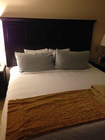 Laguna Brisas Hotel: Bed