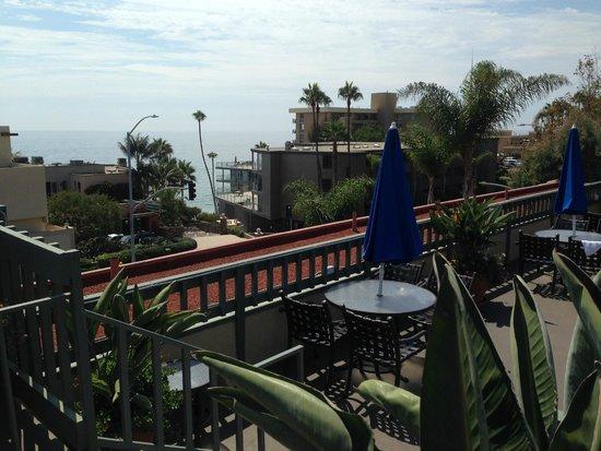Laguna Brisas Hotel: View from Balcony