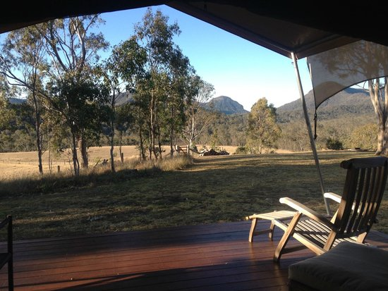 Spicers Canopy: Views from tent