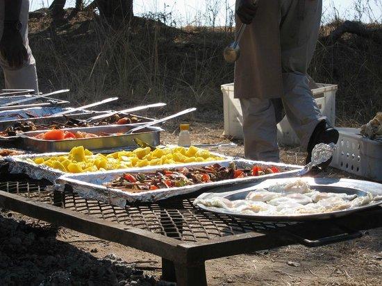 "Mfuwe Lodge - The Bushcamp Company: Amazing ""pop-up"" food."