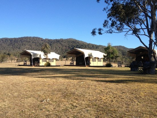 Spicers Canopy: View on approach to accommodation