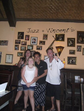 Vincent's: Annie's daughter's name is Jazlyn , Jazz for short, she was tickled pink