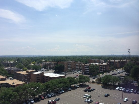 Hyatt Place Denver/Cherry Creek: View from 10th floor suite
