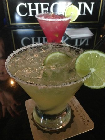 The Tavern Hotel : Check in cocktails - tasty margaritas
