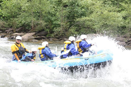 Wildwater Rafting - Ocoee: Our raft!