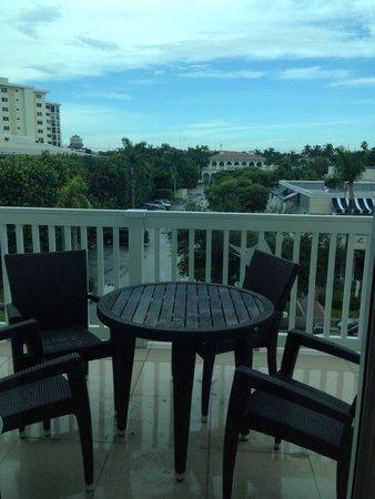 The Seagate Hotel & Spa: Room 345 Balcony