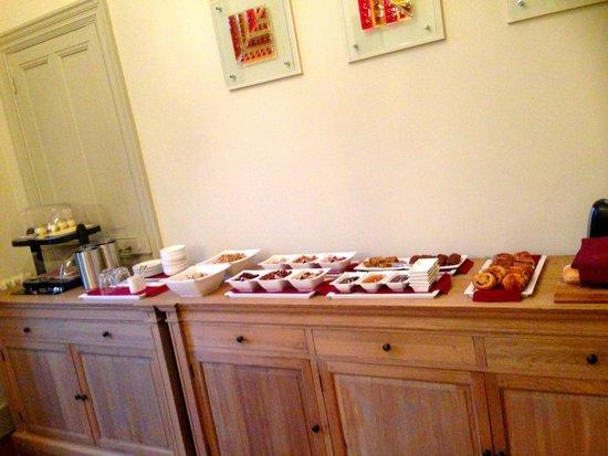 La Villa De Mazamet : Breakfast